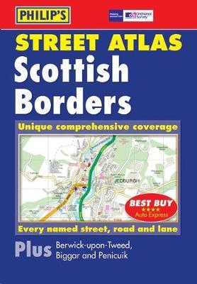 Philip's Street Atlas Scottish Borders image