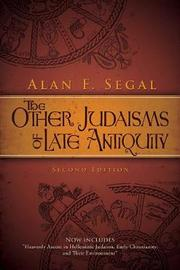 The Other Judaisms of Late Antiquity by Alan F. Segal image