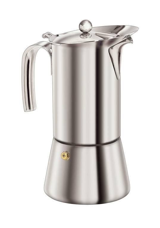 S/S Espresso Maker 6 Cup