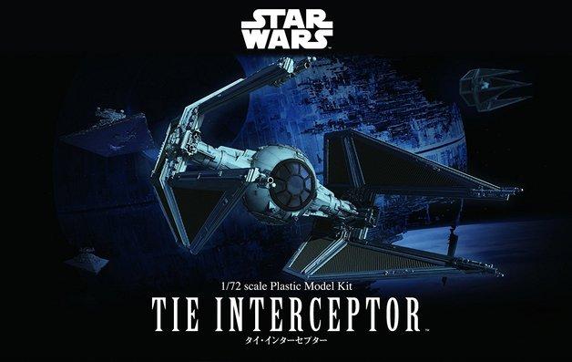 Star Wars 1/72 TIE Interceptor - Scale Model Kit
