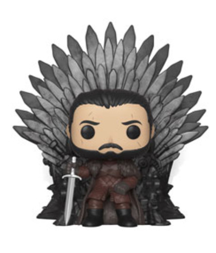 Game of Thrones: John Snow (Iron Throne) - Pop! Deluxe Figure