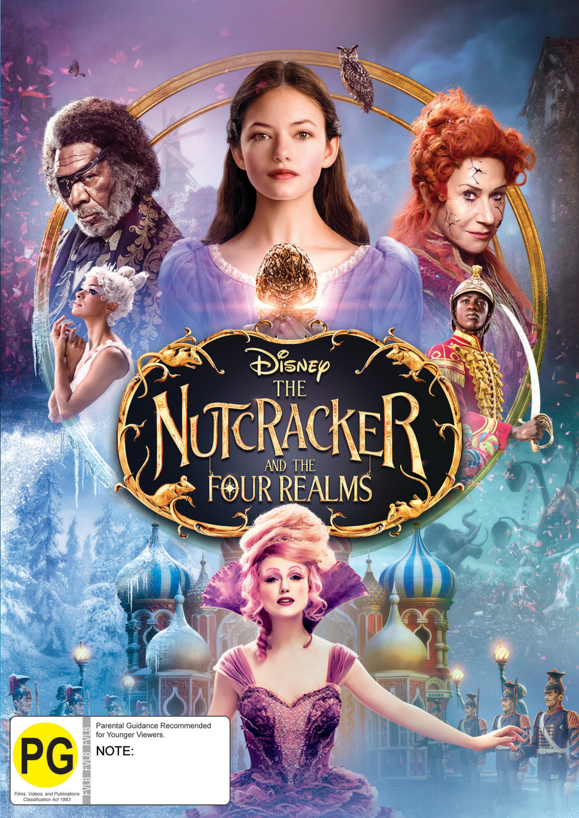 The Nutcracker And The Four Realms on DVD image