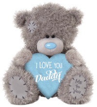Me To You: Tatty Teddy Bear - Fathers Day Heart