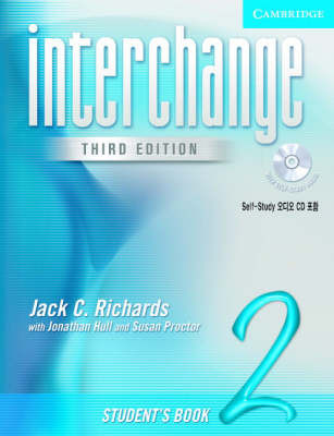 Interchange Student's Book 2 with Audio CD Korea Edition by Jack C Richards image