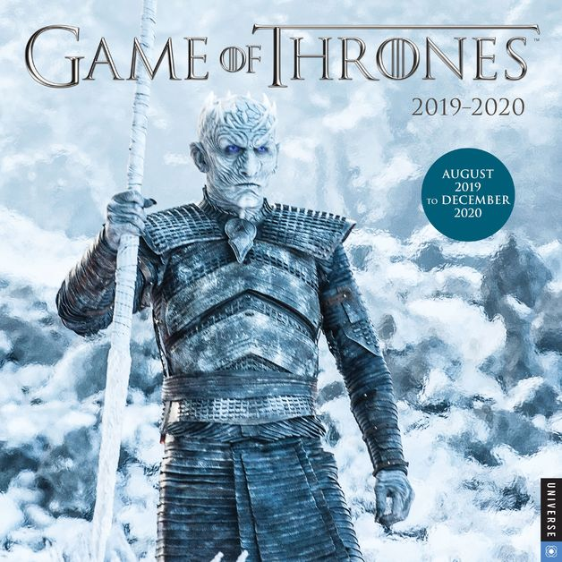 Game of Thrones 2019-2020 17-Month Square Wall Calendar