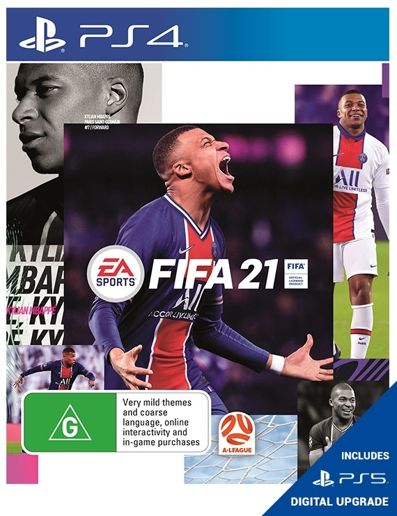 FIFA 21 for PS5, PS4