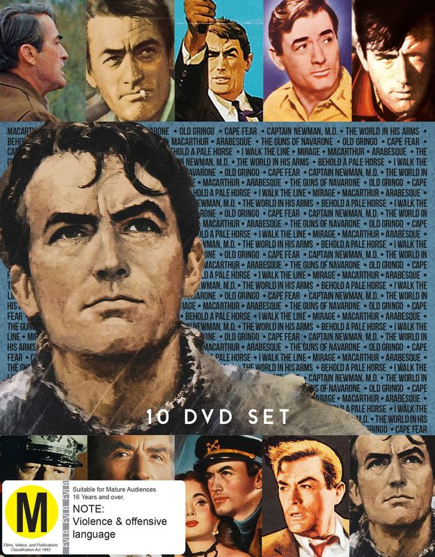 Gregory Peck Collection on DVD