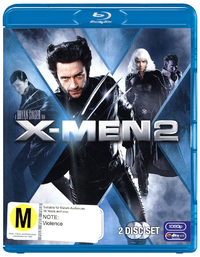 X-Men 2 on Blu-ray