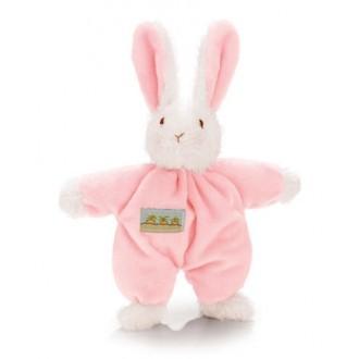 Sweet Hops Bunny Rattle - Pink