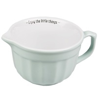 Retro Pastel Mixing Bowl Green (Medium)