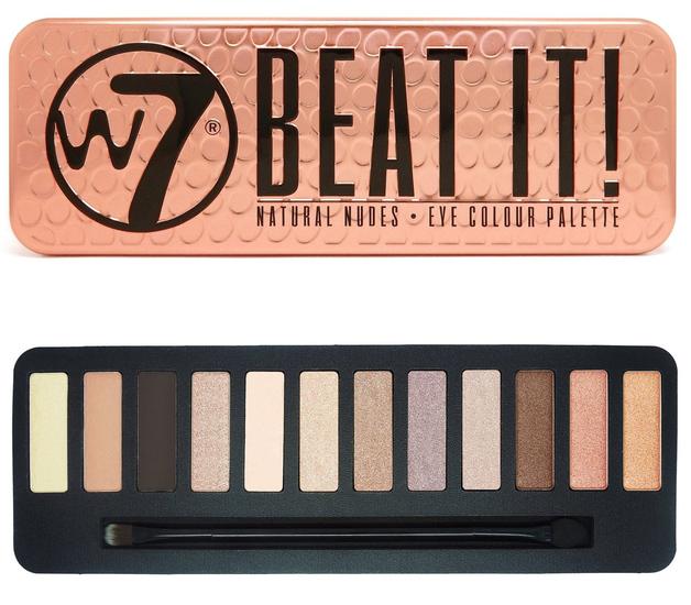 W7 Beat It Compact Eyeshadow Palette