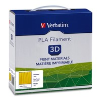 Verbatim 3D Printer PLA 3.00mm Filament - 1kg Reel (Yellow) image