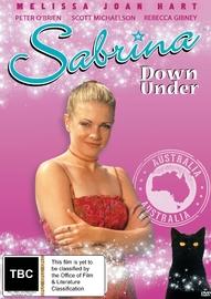 Sabrina - Down Under on DVD