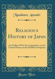 Religious History of Japan by Masaharu Anesaki image