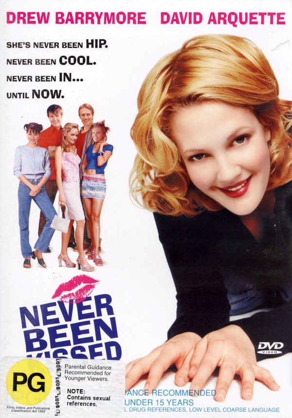 Never Been Kissed on DVD image