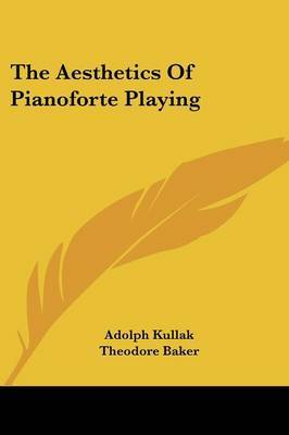 The Aesthetics of Pianoforte Playing by Adolph Kullak image