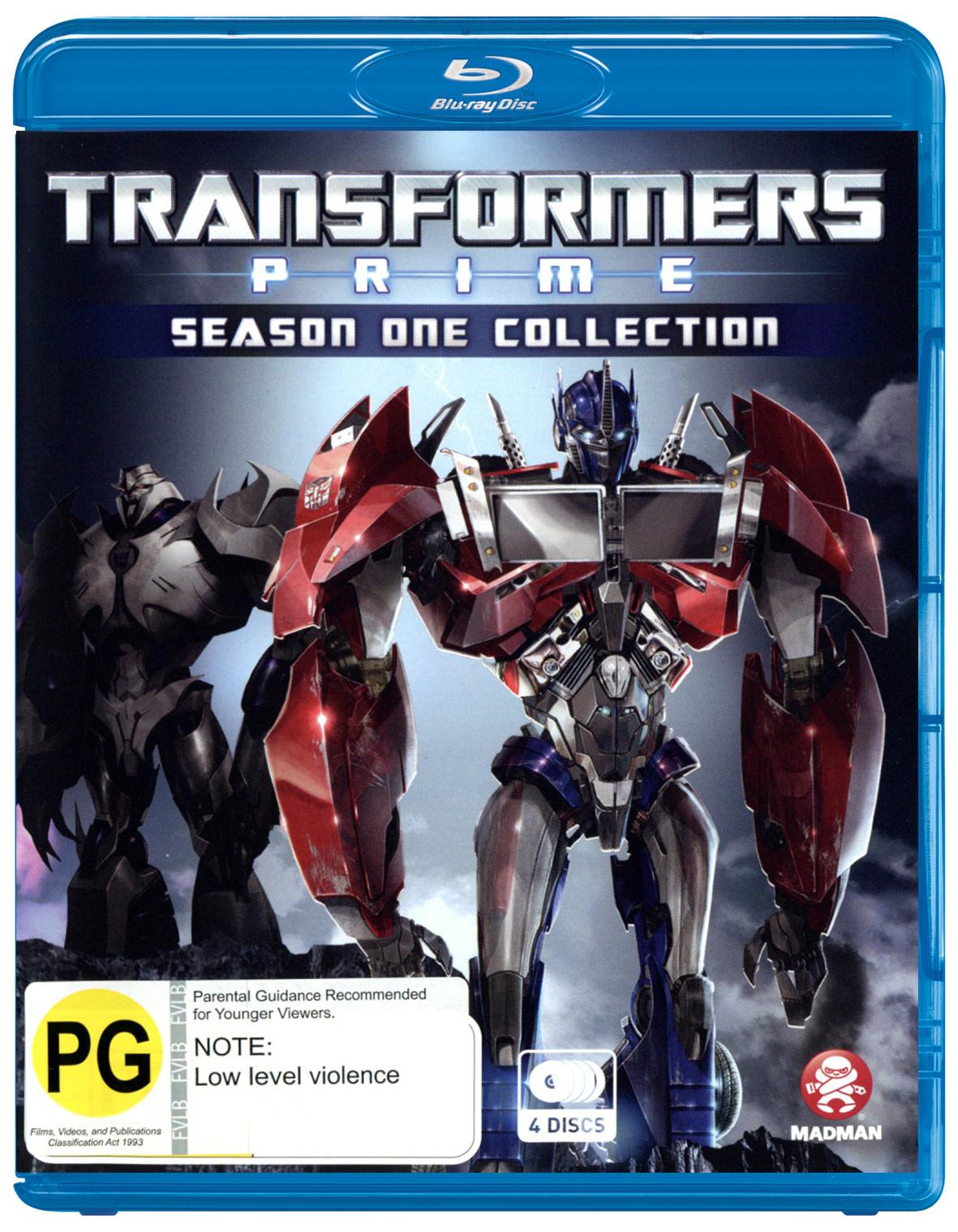 Transformers: Prime - Season 1 on Blu-ray image
