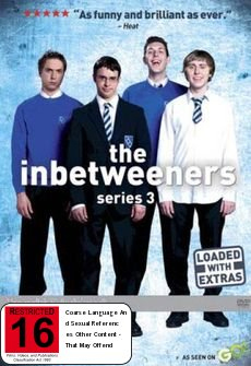 The Inbetweeners - Series 3 on DVD