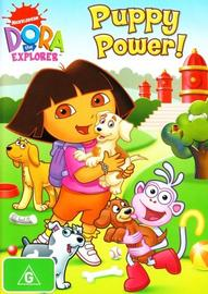 Dora the Explorer: Puppy Power! on DVD image