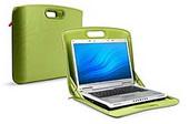 Belkin Laptop @ Home SleeveTop Case Khaki with  Green