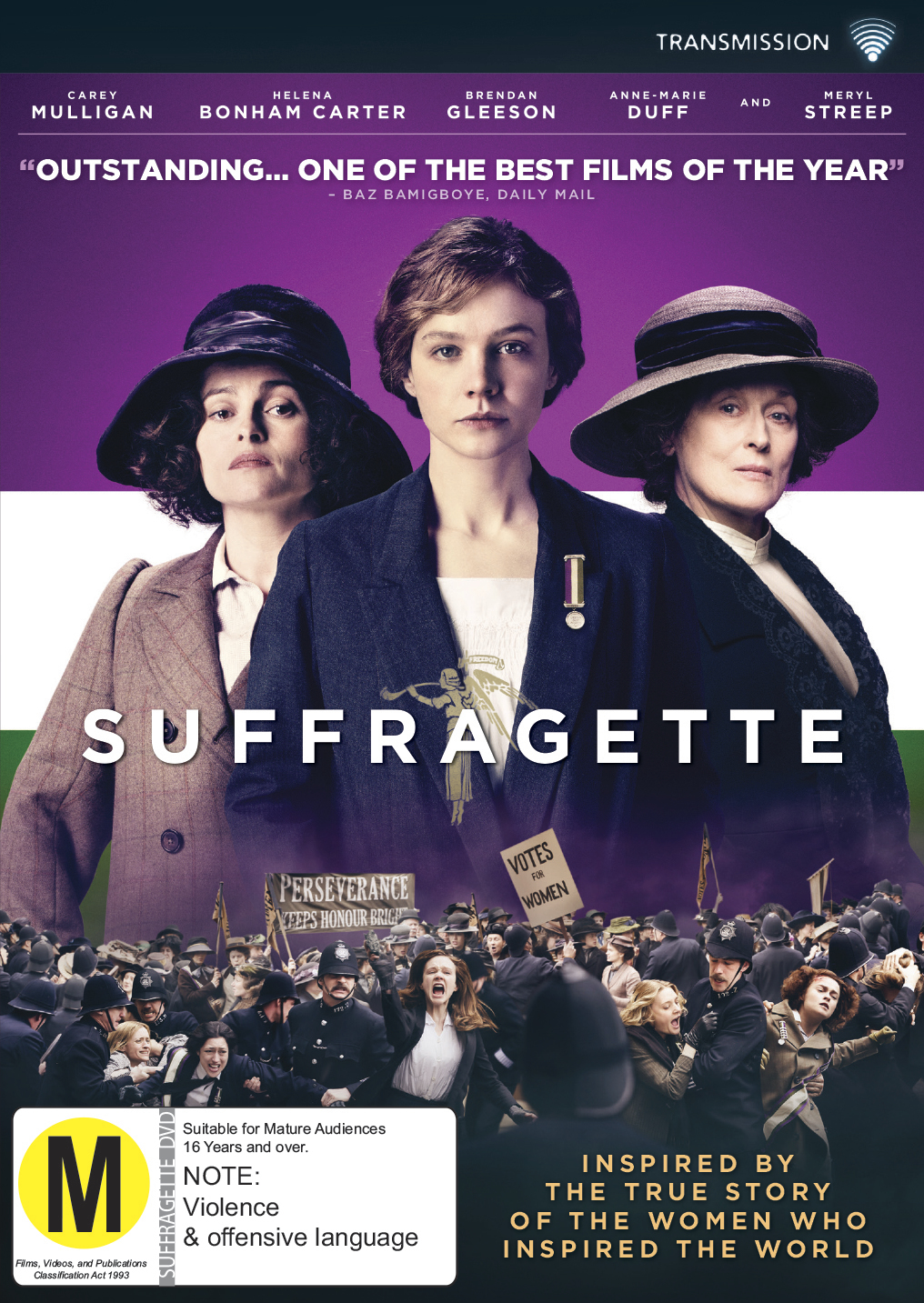 Suffragette on DVD image