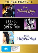 Purple Rain / Under The Cherry Moon / Graffiti Bridge - Triple Feature (3 Disc Set) on DVD