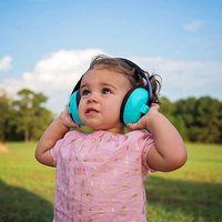 Banz Mini Earmuffs - Aqua