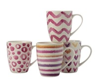 Casa Domani - Lucia Pink Mug Set 320ml (Set of 4)
