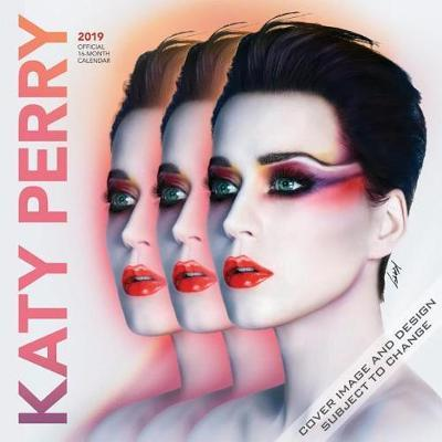 Katy Perry 2019 Square Wall Calendar by Inc Browntrout Publishers