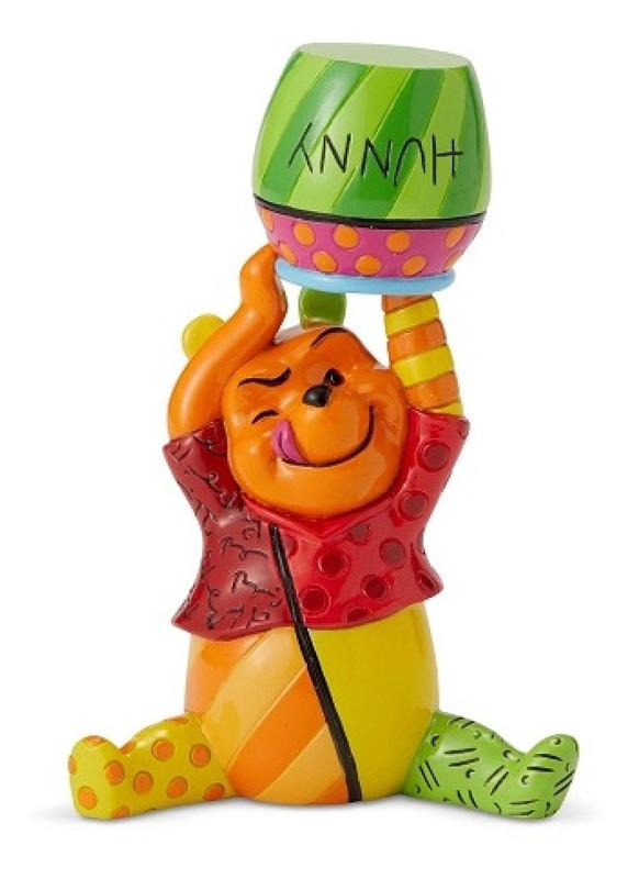 Mini Figurine Pooh With Pot