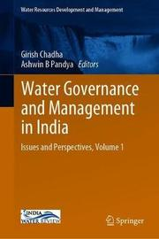 Water Governance and Management in India