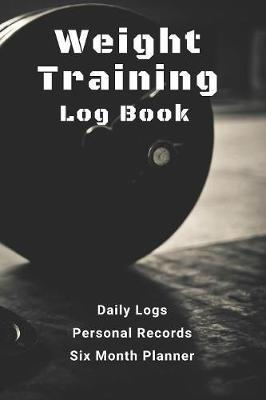 Weight Training Log Book by Flying Piggy Publishing image