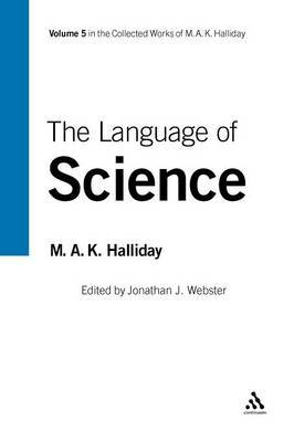 Language of Science by M.A.K. Halliday image