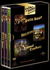 Marx Brothers Collection - Animal Crackers / Duck Soup / Horse Feathers on DVD