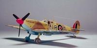Tamiya British Supermarine Spitfire Mk.Vb Trop. 1/48 Aircraft Model Kit image