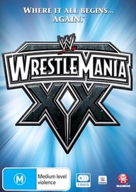 WWE: Wrestlemania 20 on DVD