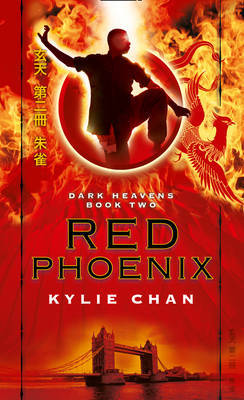 Red Phoenix (Dark Heavens #2) by Kylie Chan image
