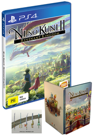 Ni no Kuni II: Revenant Kingdom Steelbook Edition for PS4 image