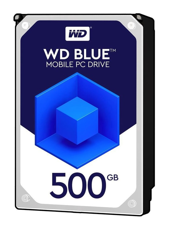 500Gb WD Blue - Mobile PC HDD (5400RPM)
