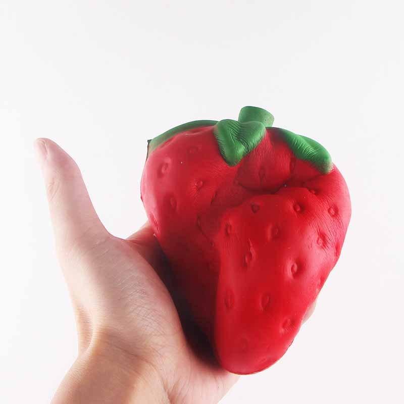 I Love Squishy: Strawberry Squishie Toy (11.5cm) image