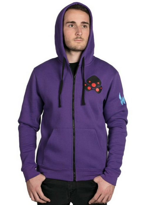 Overwatch Ultimate Widowmaker Zip-Up Hoodie (Medium)