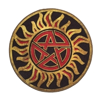 Supernatural - Anti-Possession Symbol Doormat