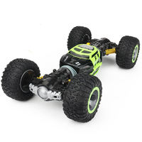 Monster Off-Road - 1:16 Scale Transforming R/C Car (Green)