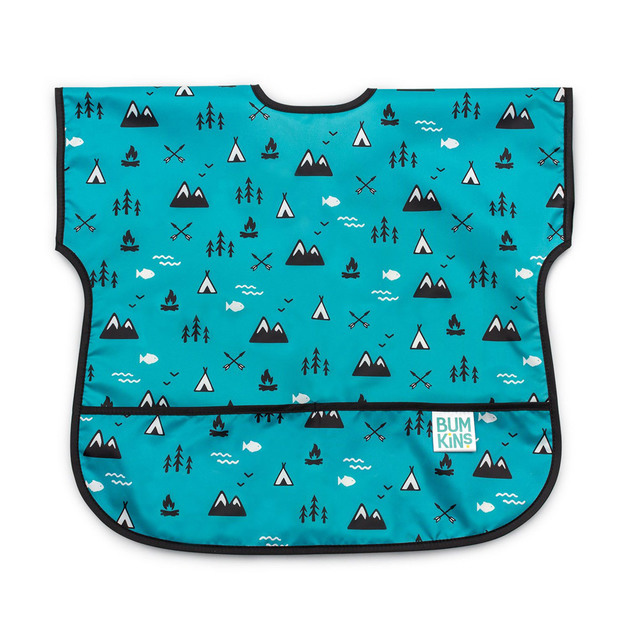 Bumkins: Waterproof Junior Bib - Outdoors