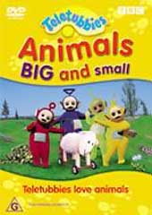 Teletubbies - Animals Big & Small on DVD