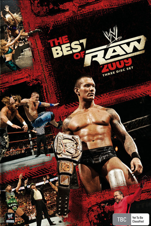 WWE Raw: The Best of 2009 (3 Disc Set) on DVD