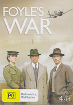 Foyle's War - Season 1 (4 Disc Set) on DVD