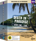 Death in Paradise: Series One - Five Boxset DVD