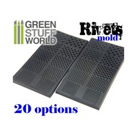 Green Stuff World : Rivet Rubber Molds