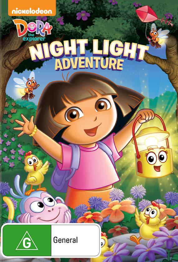 Dora and Friends: Night Light Adventure on DVD image